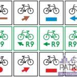 znaki rowerowe R