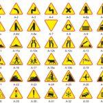 znaki drogowe, znaki ostrzegawcze A