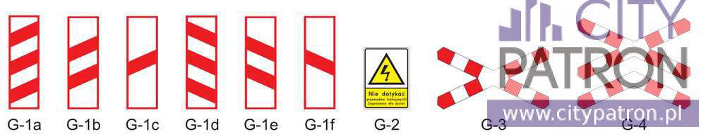 znaki dodatkowe typ G
