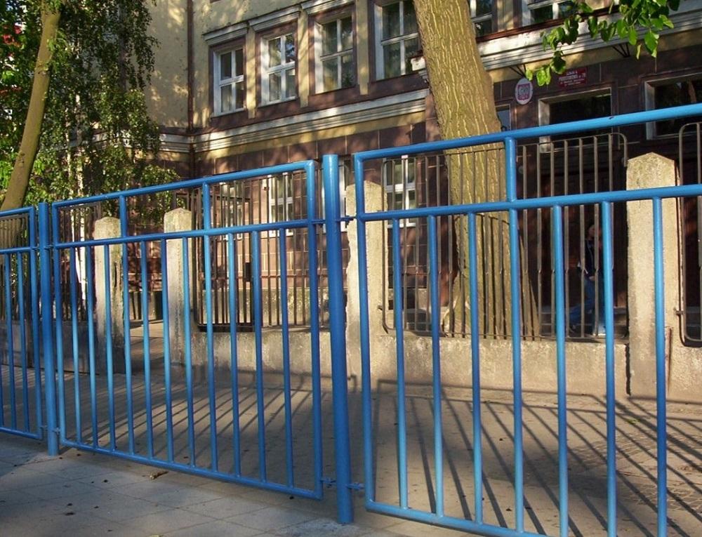 bariera miejska szkolna, balustrada miejska szkolna, bb-is-i03 bariera