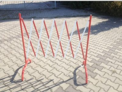 barierka harmonijkowa