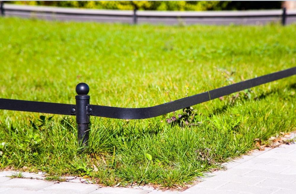 barierka trawnikowa