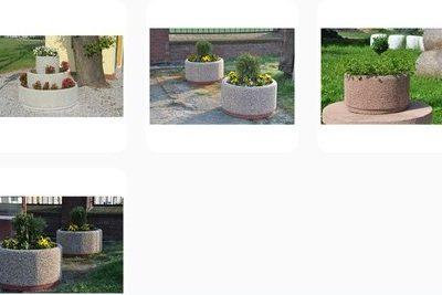 kwietniki betonowe