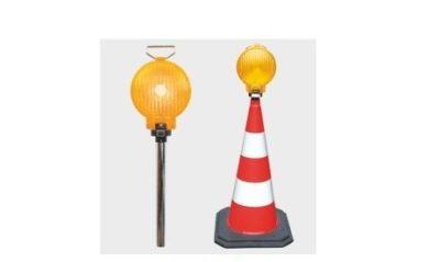 lampa z pachołkiem