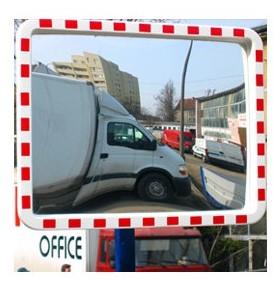 lustro drogowe prostokątne