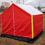 namiot dla ekip remontowych