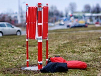 zestaw namiotu dla ekip remontowych