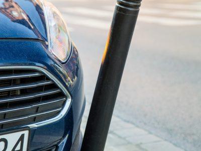 elastyczny słupek parkingowy