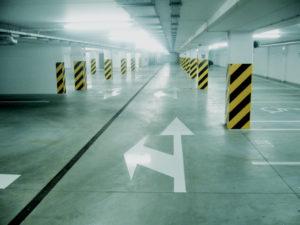 oznakowanie-poziome-parkingów-podziemnych